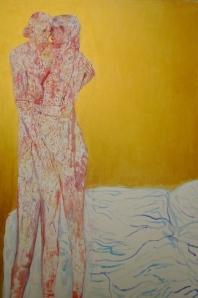 """""""Sans titre"""" acrylique sur toile 150 x 100 cm 2012"""
