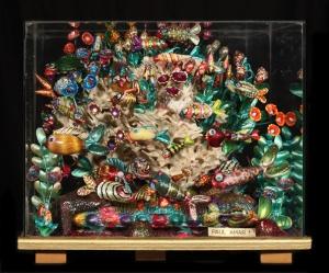 """""""Le petit aquarium"""" coquillages vitré 2006"""