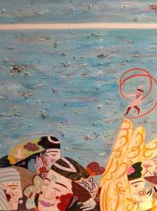 """""""White light"""" huile sur toile 65 x 54 cm 2011"""