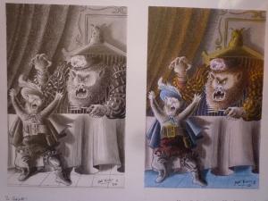 Contes de PERRAULT Illustration