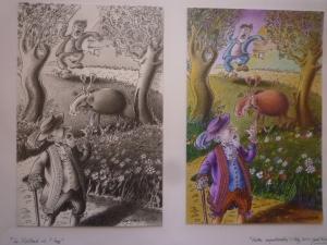 Fables de La Fontaine Illustration