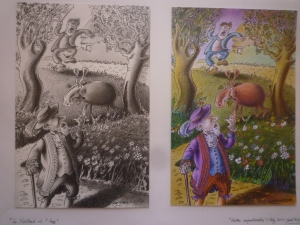 Fables de La Fontaine Illustration