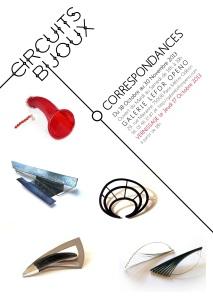 "Exposition ""Correspondances"" Circuits Bijoux 2013"